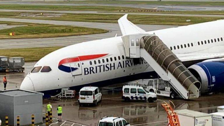 Инцидент с товарен самолет на