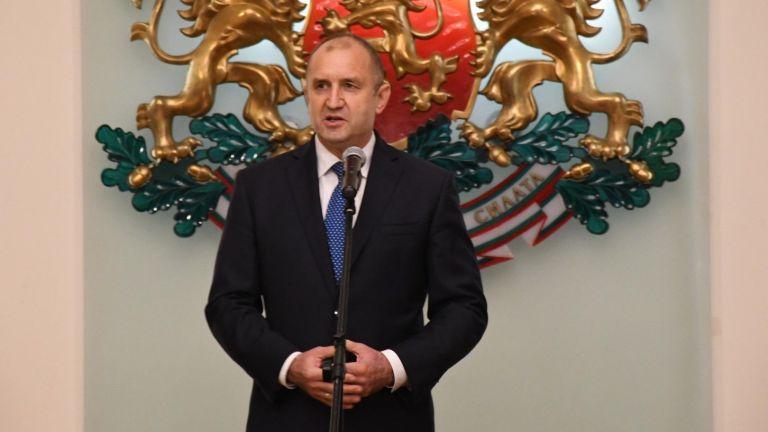 Президентът Румен Радев изпрати открито писмо в отговор на отправен
