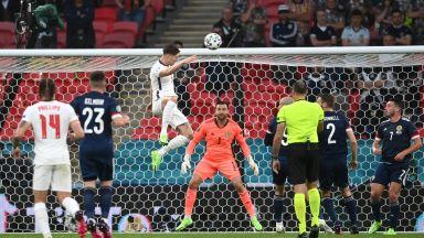 """Евро 2020: Англия - Шотландия 0:0, греда за """"трите лъва"""" (на живо)"""