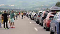 """Отново километрични опашки на """"Кулата"""" към Гърция"""