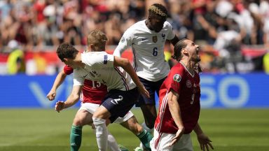 Евро 2020: Унгария - Франция 0:0 (на живо)
