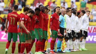 Евро 2020: Португалия - Германия 1:0, отменен гол на Бундестима (на живо)