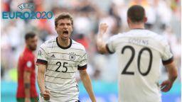 Германия показа мускули и повали еврошампионите в голово шоу