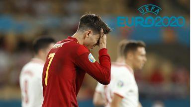 Евро 2020, финалът в група Е: Словакия - Испания 0:0, Швеция - Полша 0:0 (на живо)