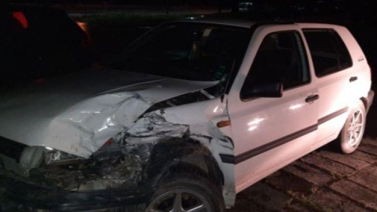 Граждани задържаха пиян шофьор, предизвикал катастрофа и направил опит да