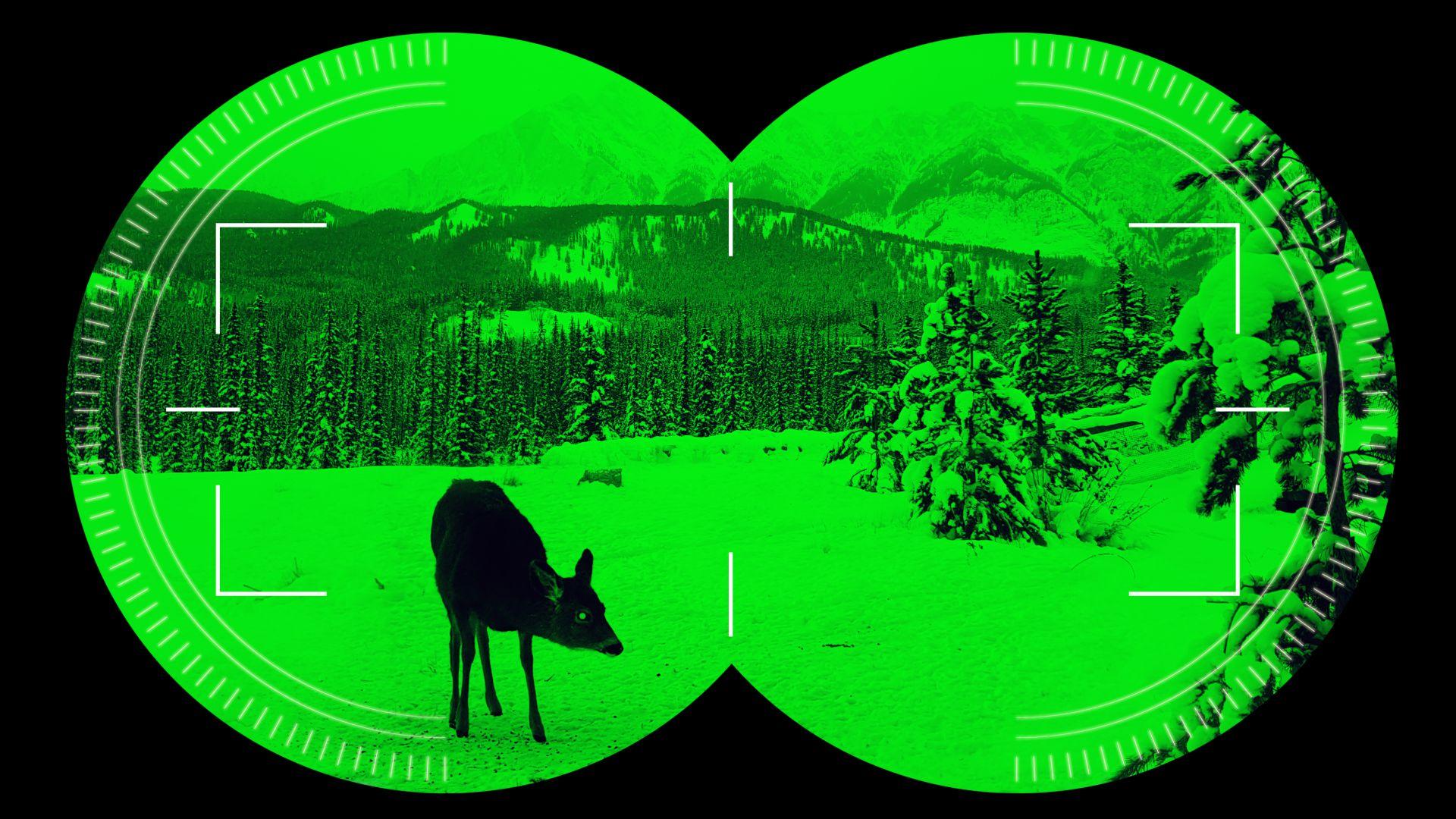 Специално покритие превръща обикновени очила в прибори за нощно виждане