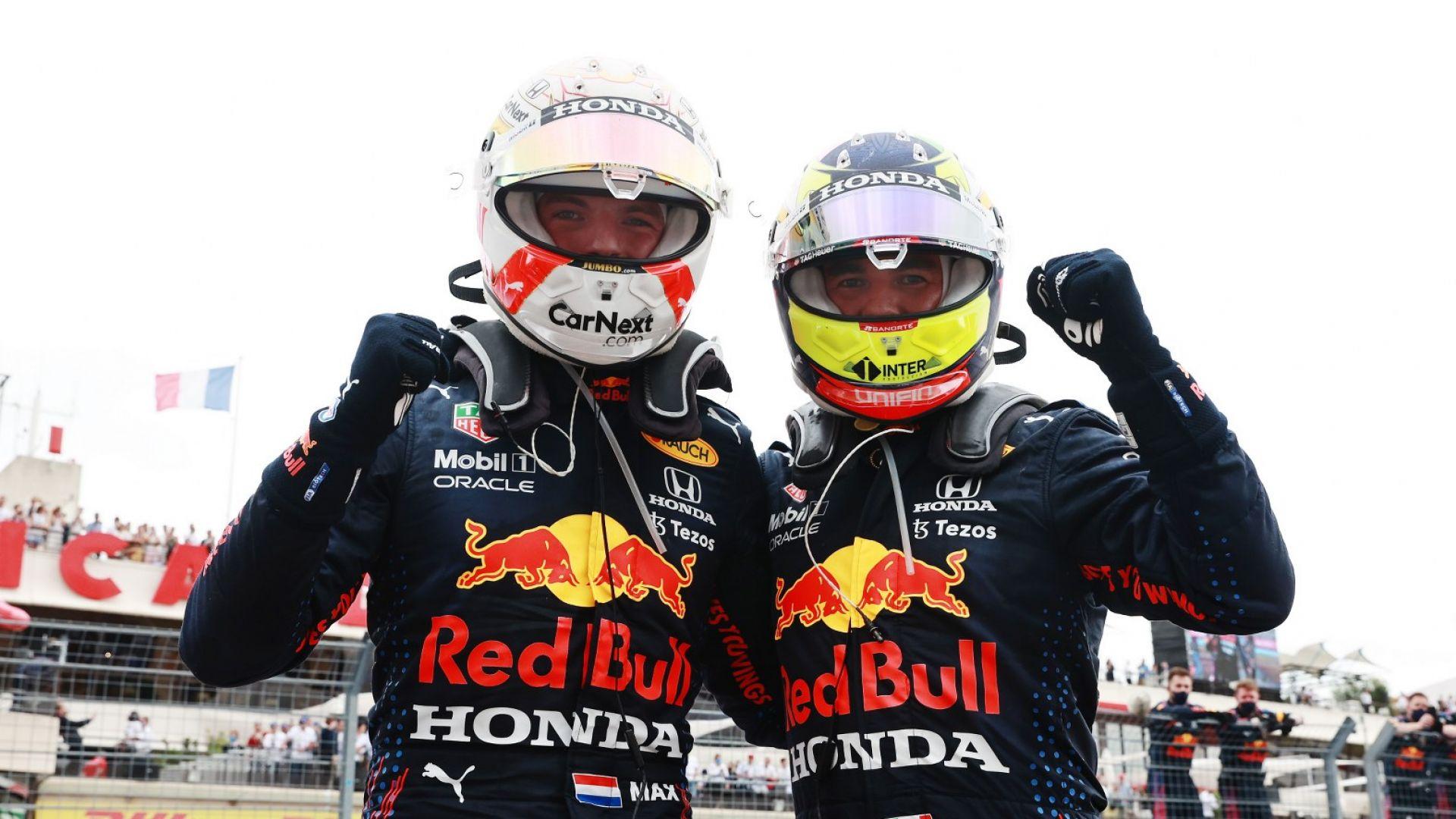 """""""Ред Бул"""" и Верстапен разстроиха """"Мерцедес"""" след супер състезание във Франция"""
