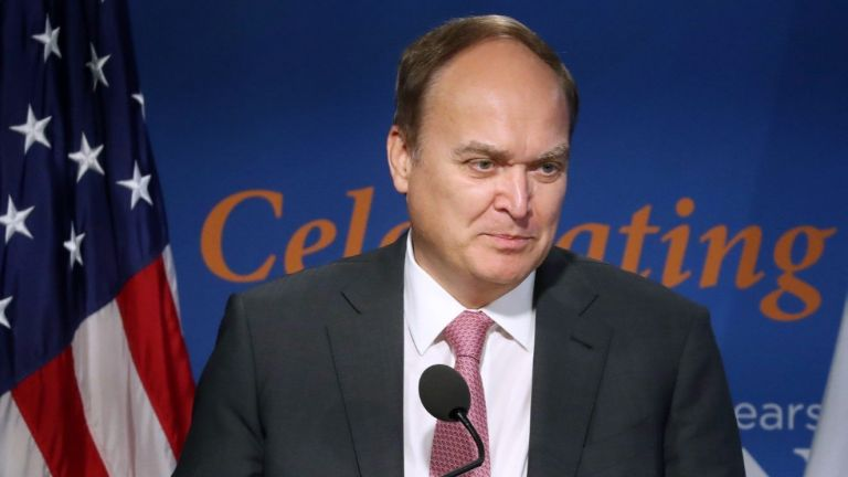 Руският посланик във Вашингтон Анатолий Антонов се върна в САЩ