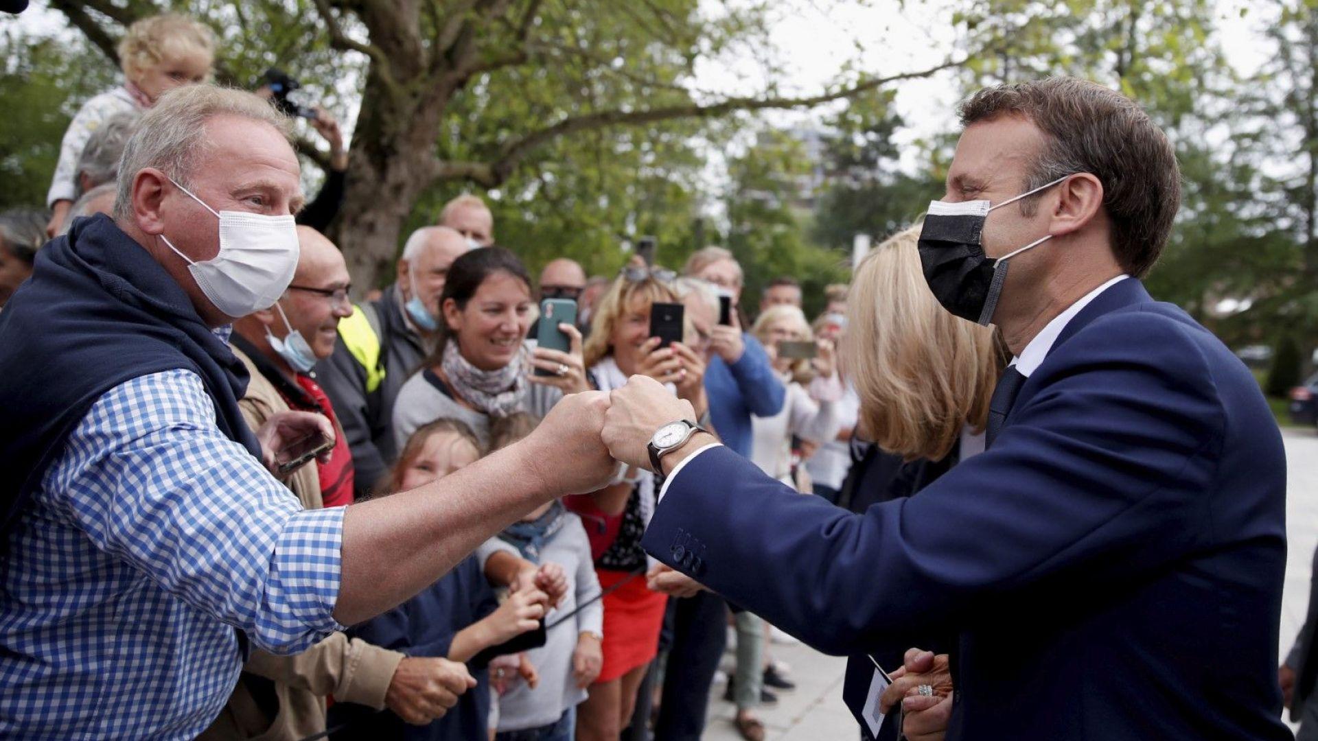 Избори във Франция: Малцина пред урните, а Макрон и Льо Пен са пред провал