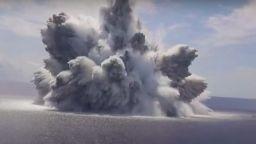 Военно изпитание на САЩ в Океана предизвика трус от 3.9 по Рихтер (видео)