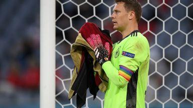 Драма около ЛГБТ лентата на Нойер, УЕФА искаше да глоби Германия