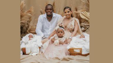 Проплакаха олимпийски бебета: Юсейн Болт стана баща на близнаци