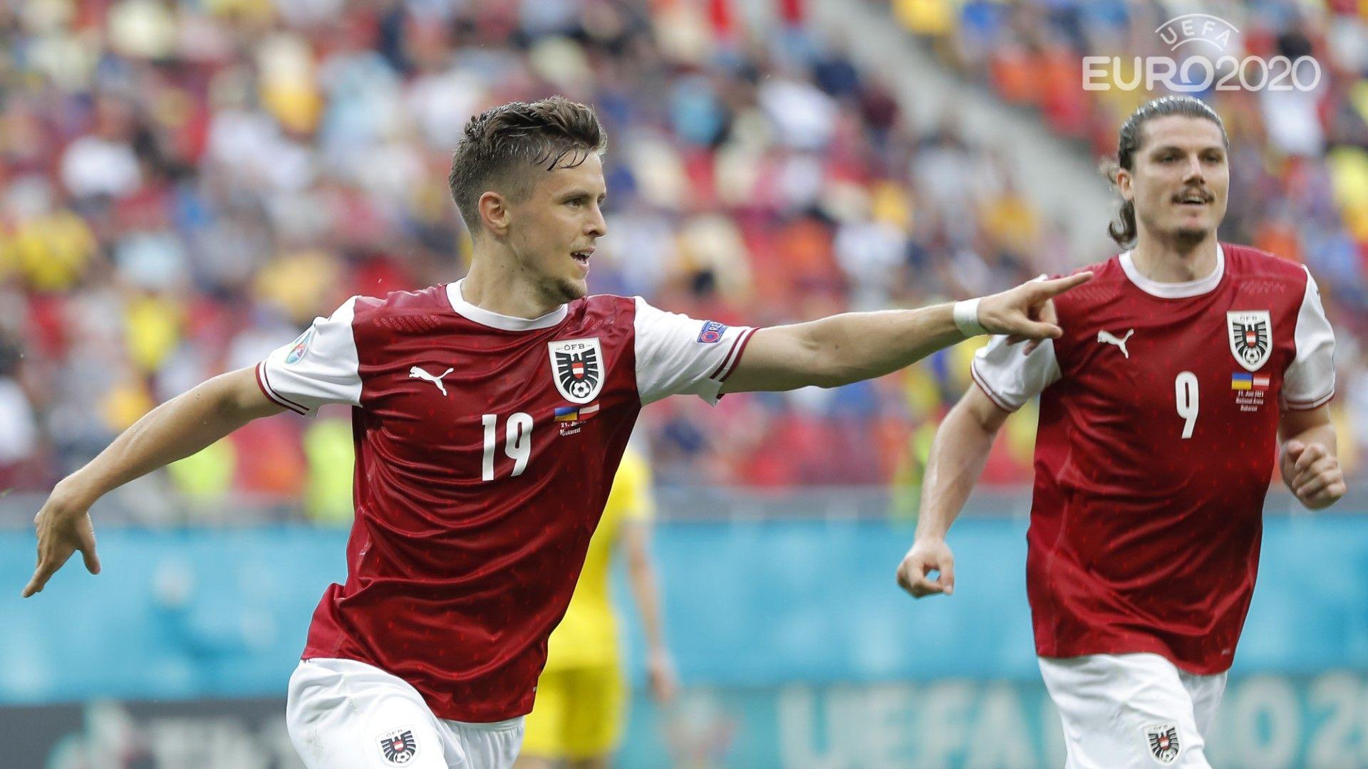 Австрия пише история с първи осминафинал на Европейско