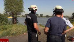 Три български момичета се удавиха в река Рейн край Дуисбург (видео)