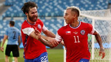 """""""Грешниците"""" поведоха Чили към 1/4-финал на Копа Америка"""