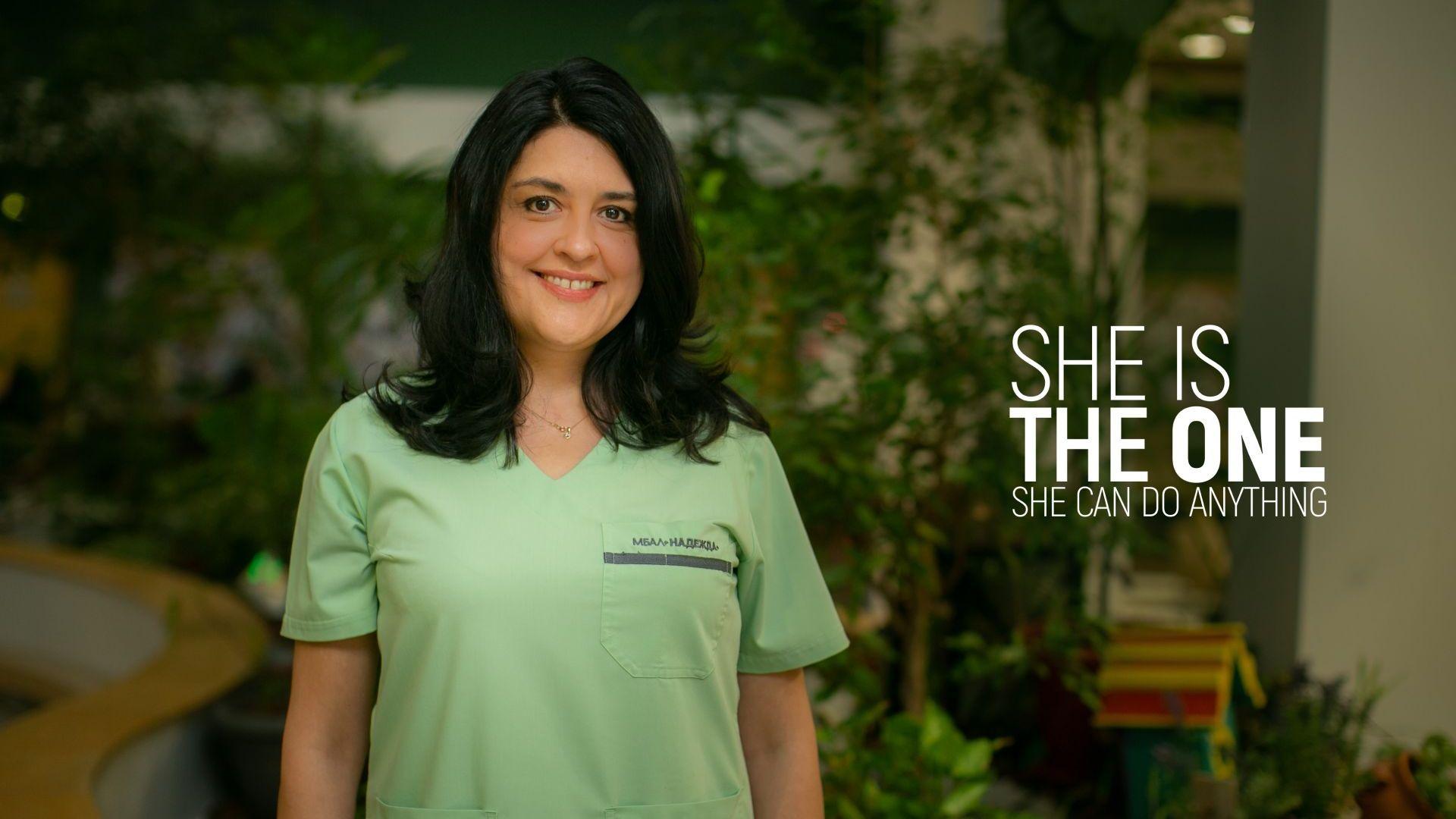 Д-р Марина Михова, която спасява животи, преди да са се родили