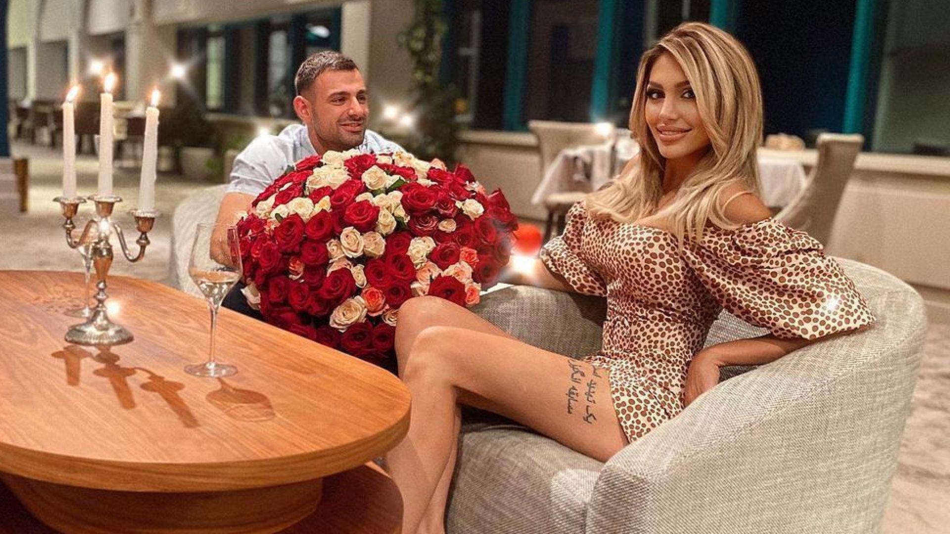 Джулиана Гани и Илиян Найденов отпразнуваха 3 г. заедно с романтична почивка