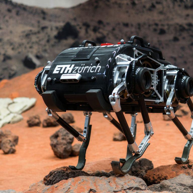 Учени създадоха марсоход, който може да изкачва хълмове