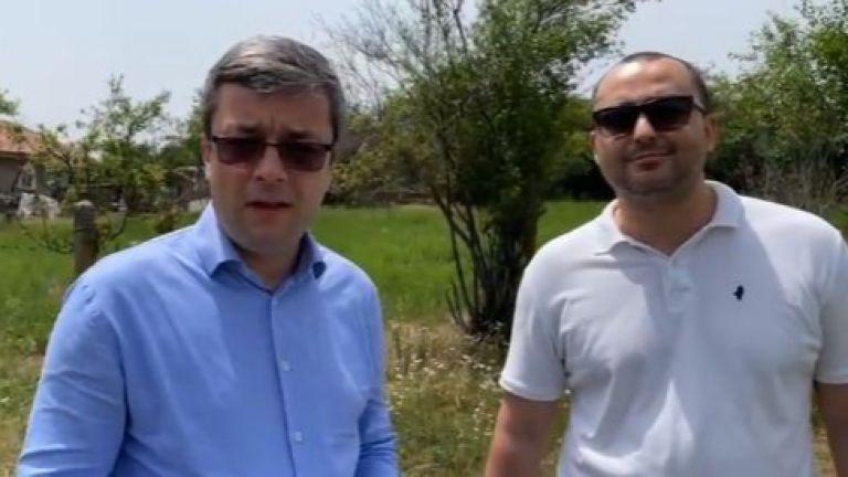 Тома Биков и Александър Иванов от ГЕРБ пуснаха живо предаване