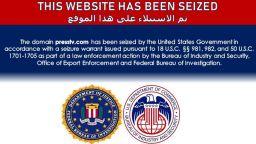 """САЩ """"превзели"""" сайтове на ирански медии и канал на хутите"""