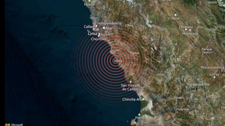 Земен трус с магнитуд 6 удари перуанската столица и други
