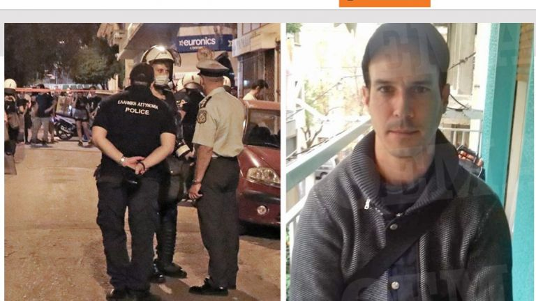 35-годишен българин е арестуван в атинския квартал Неа Филаделфия снощи,
