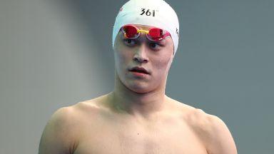 Китайска легенда няма да плува в Токио заради допинг