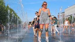 Незапомнена жега  в Москва, падат над 100-годишни температурни рекорди