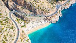 Тайни плажове в Турция: Капуташ (снимки и видео)