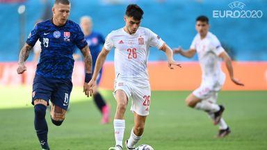 Евро 2020, финалът в група Е: Словакия - Испания 0:0, Швеция - Полша 1:0 (на живо)