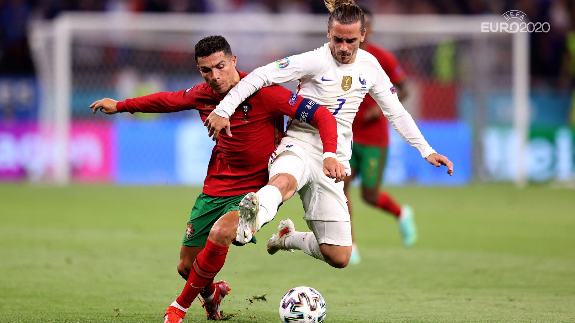 Три дузпи в ярко шампионско шоу, рекордьорът Роналдо остави Португалия на Европейското
