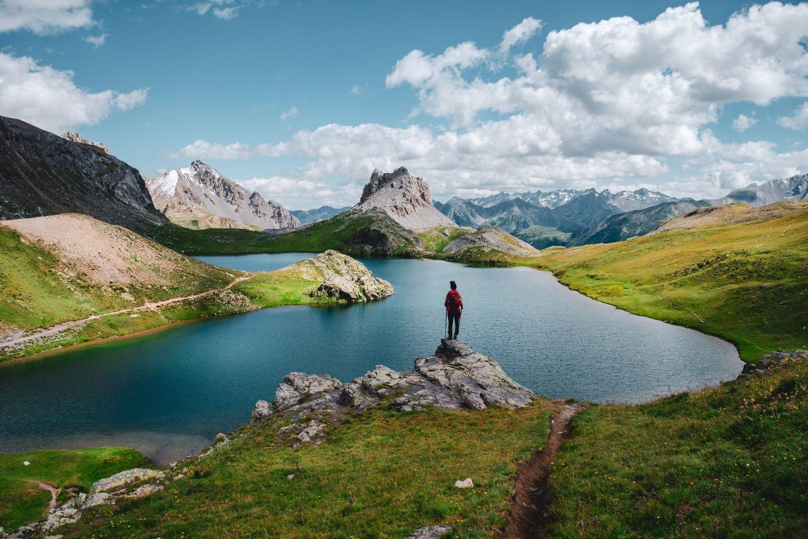 Монте Оронай и Горното езеро Робурент