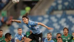 Уругвай най-после записа първа победа на Копа Америка
