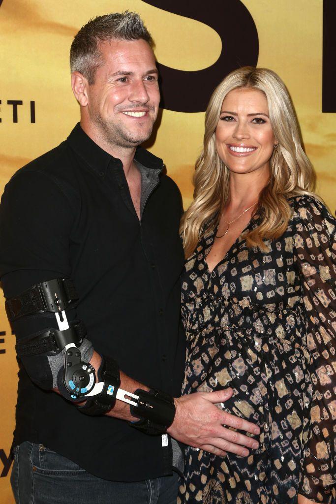 Ант Анстед с бившата си съпруга