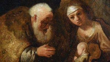 Изгубена творба на Рембранд е открита, след като пада от стена в частен дом
