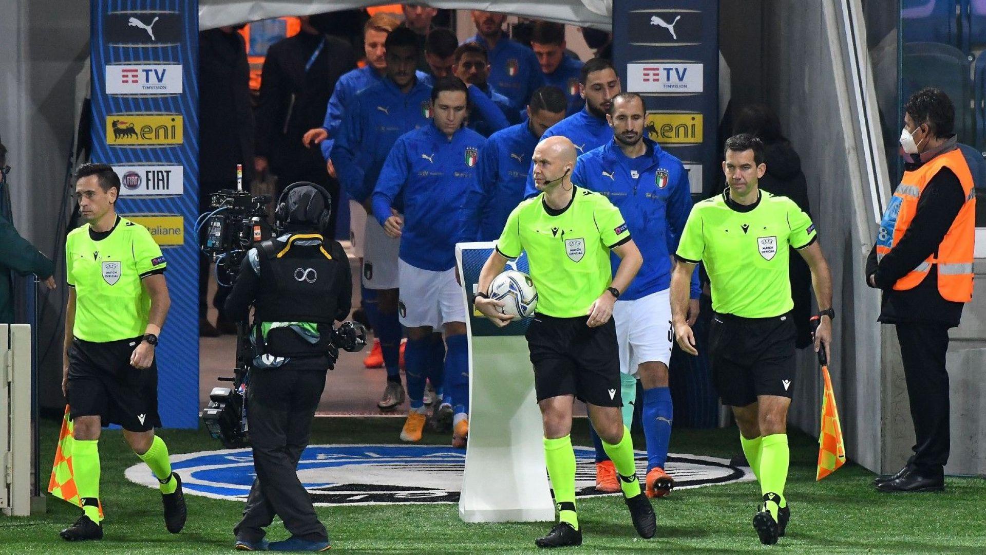 Италия съзря тежка конспирация със съдията за осминафинала с Австрия