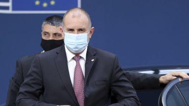 Президентът Радев подкрепя предложението за среща ЕС-Русия