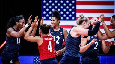 САЩ продължи доминацията си в женския волейбол