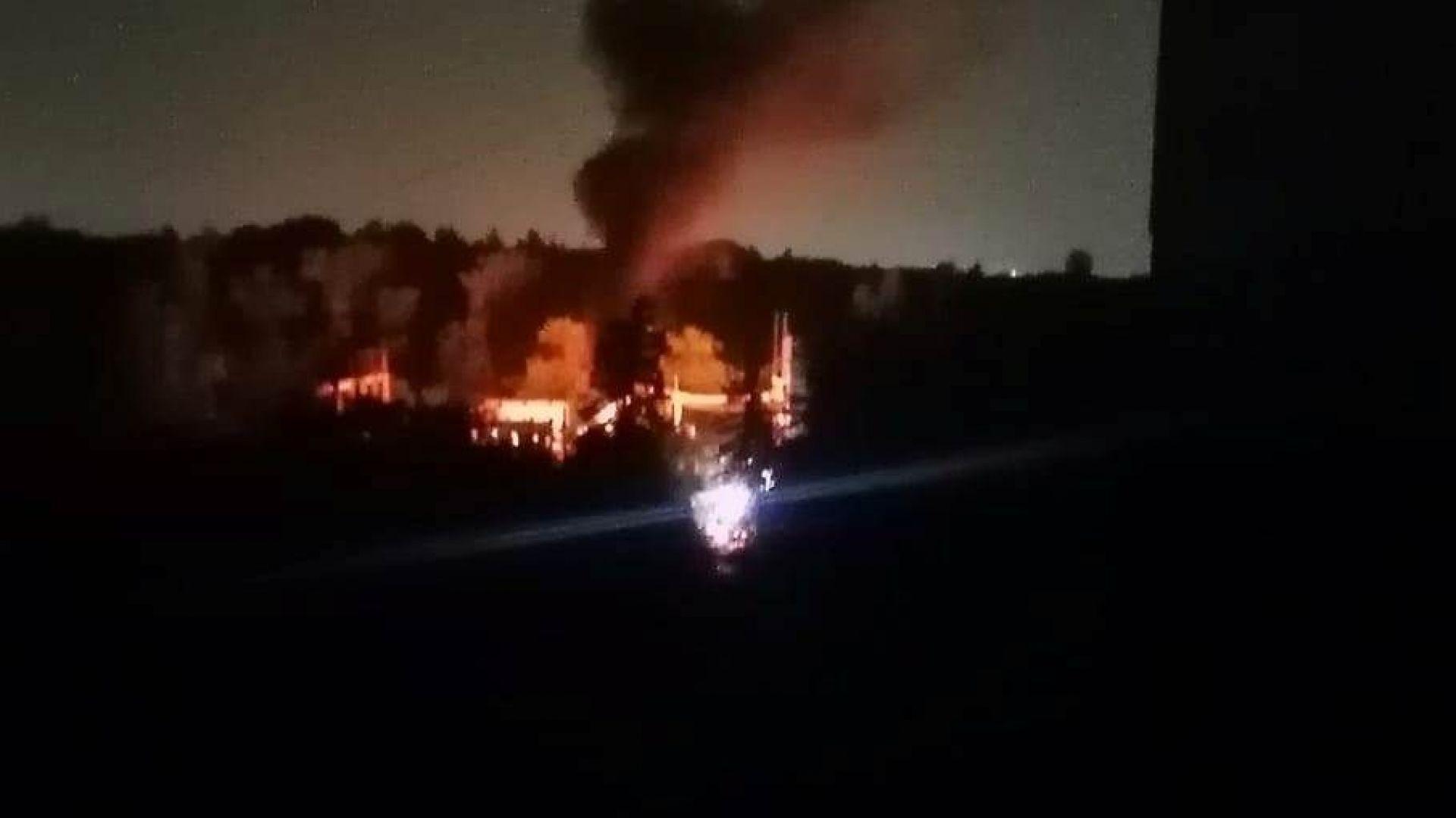 """Пожар в трафопост остави част от столичния квартал """"Надежда"""" без ток през нощта"""