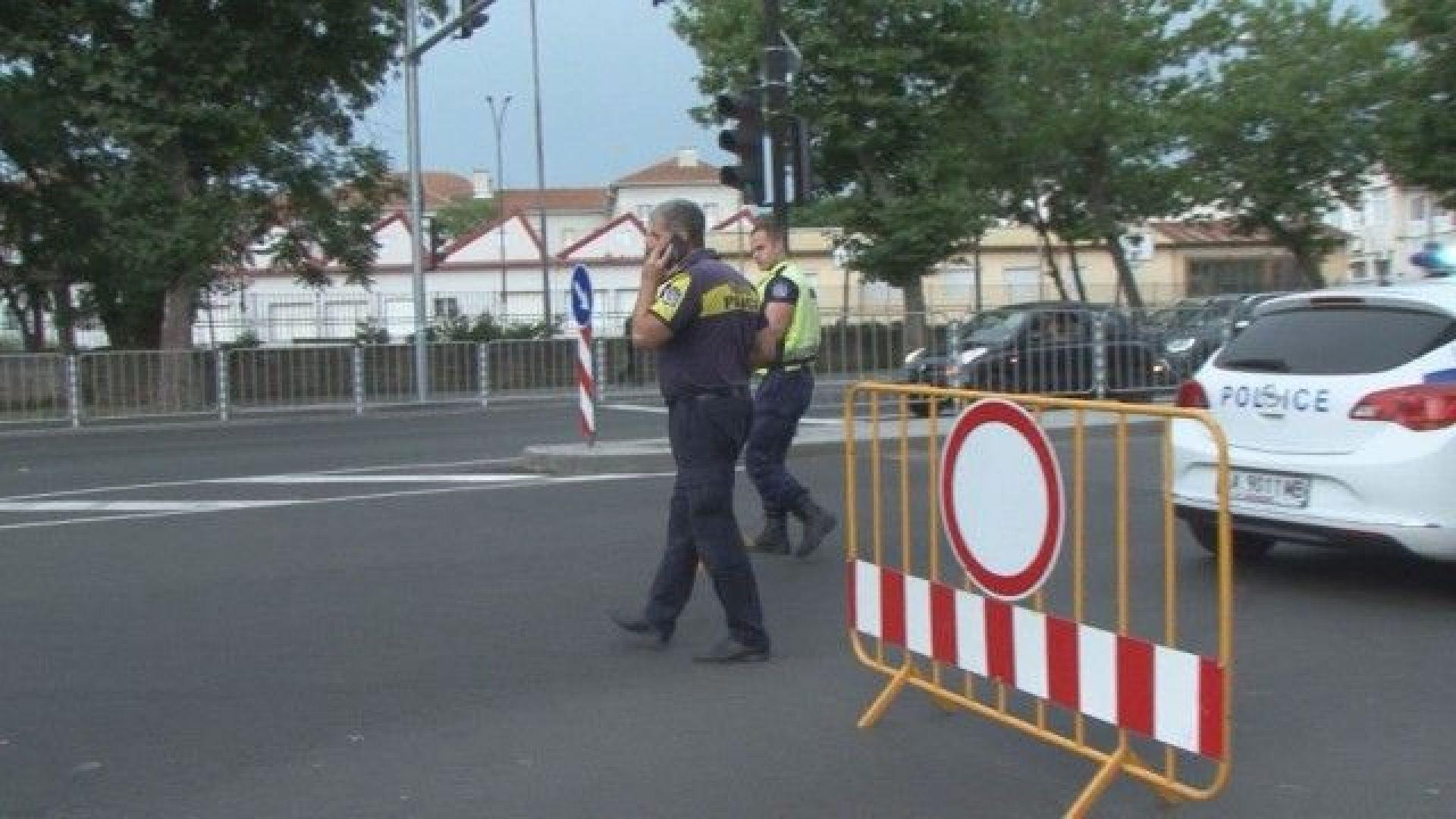 Протест след ремонт на централен булевард в Бургас, недоволните блокират трафика