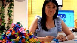 1000 жерава оригами за световен рекорд на Гинес