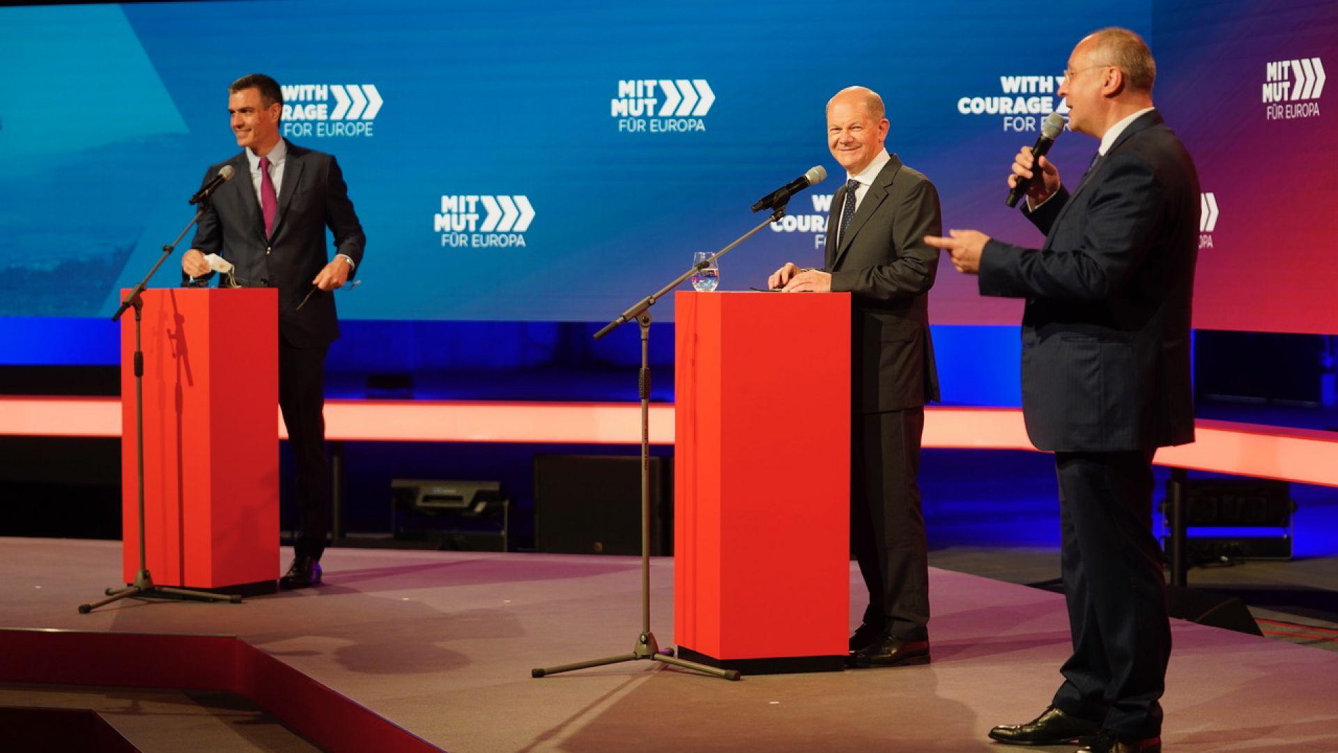 Станишев в Берлин: Преди кризата поехме инициативата, сега Европа избра левите приоритети