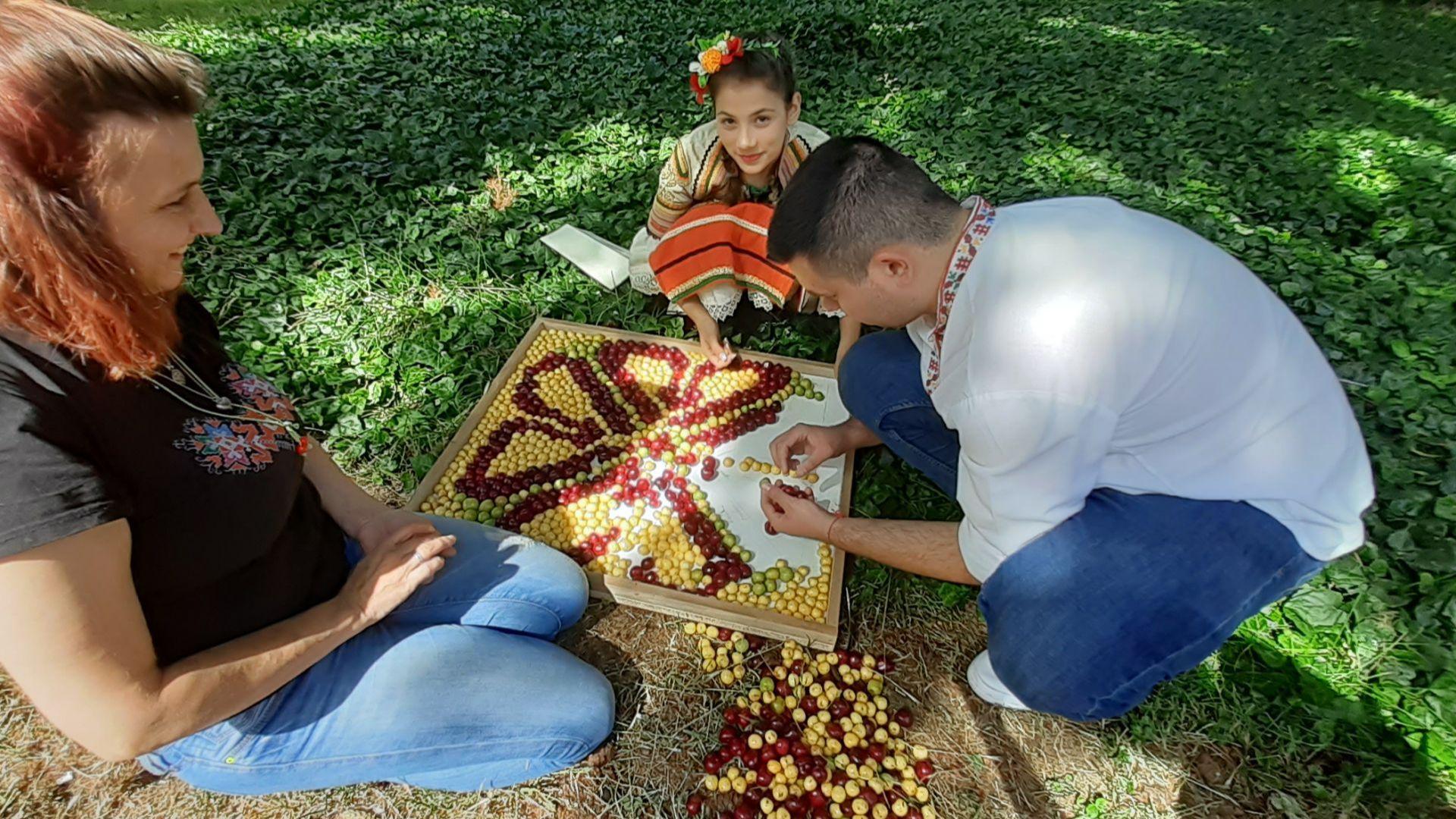 Обявиха колко е голяма най-едрата череша на празника в Кюстендил
