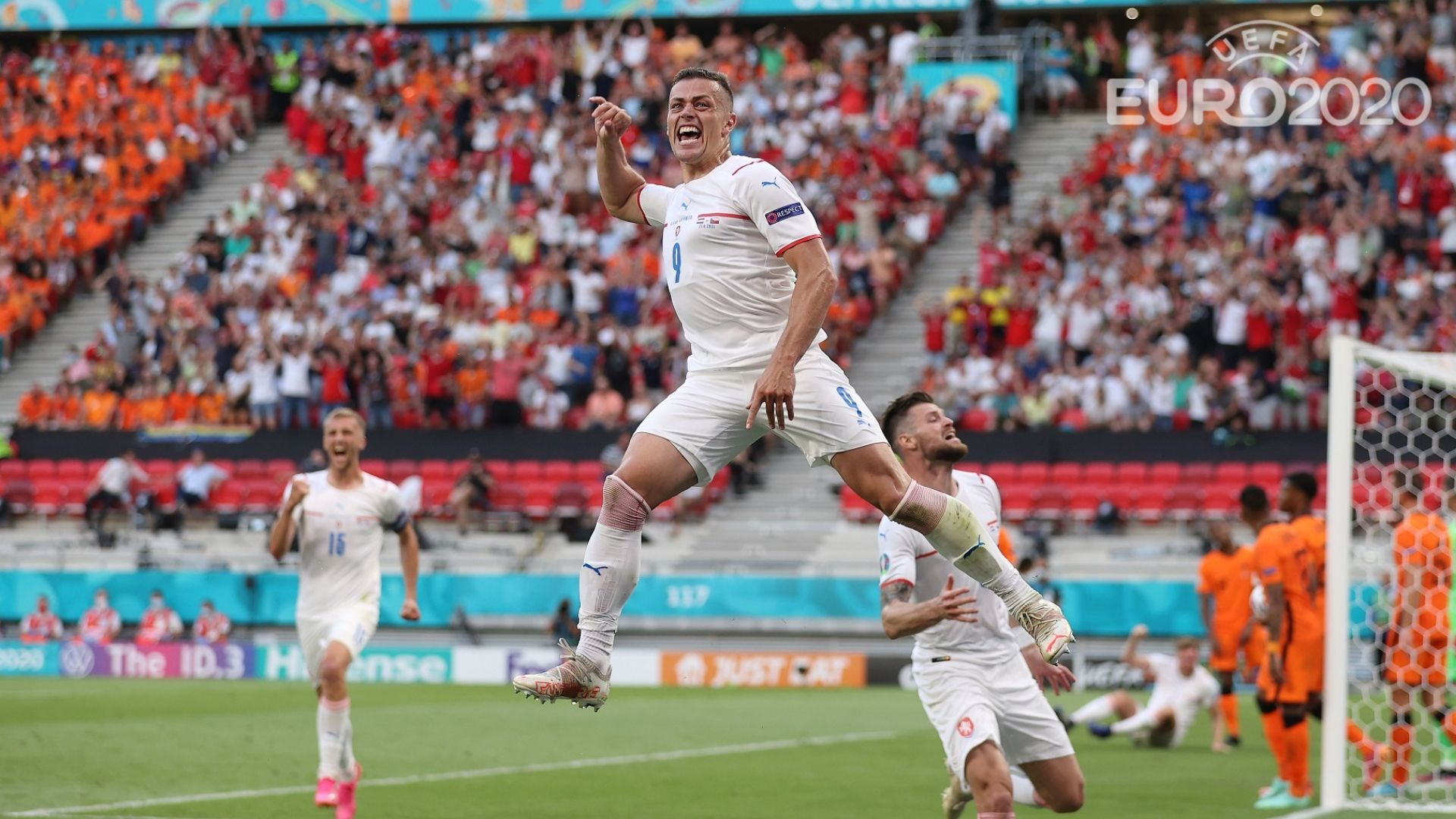 Нидерландският фойерверк угасна срещу Чехия в осминафиналите