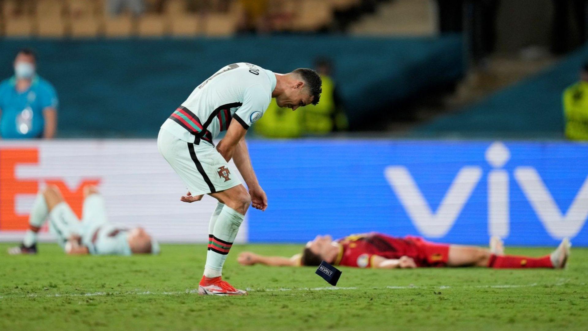Роналдо би шута на капитанската лента и ядоса португалците (Видео)