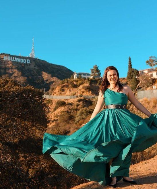 Виктория Сиракова в Холивуд