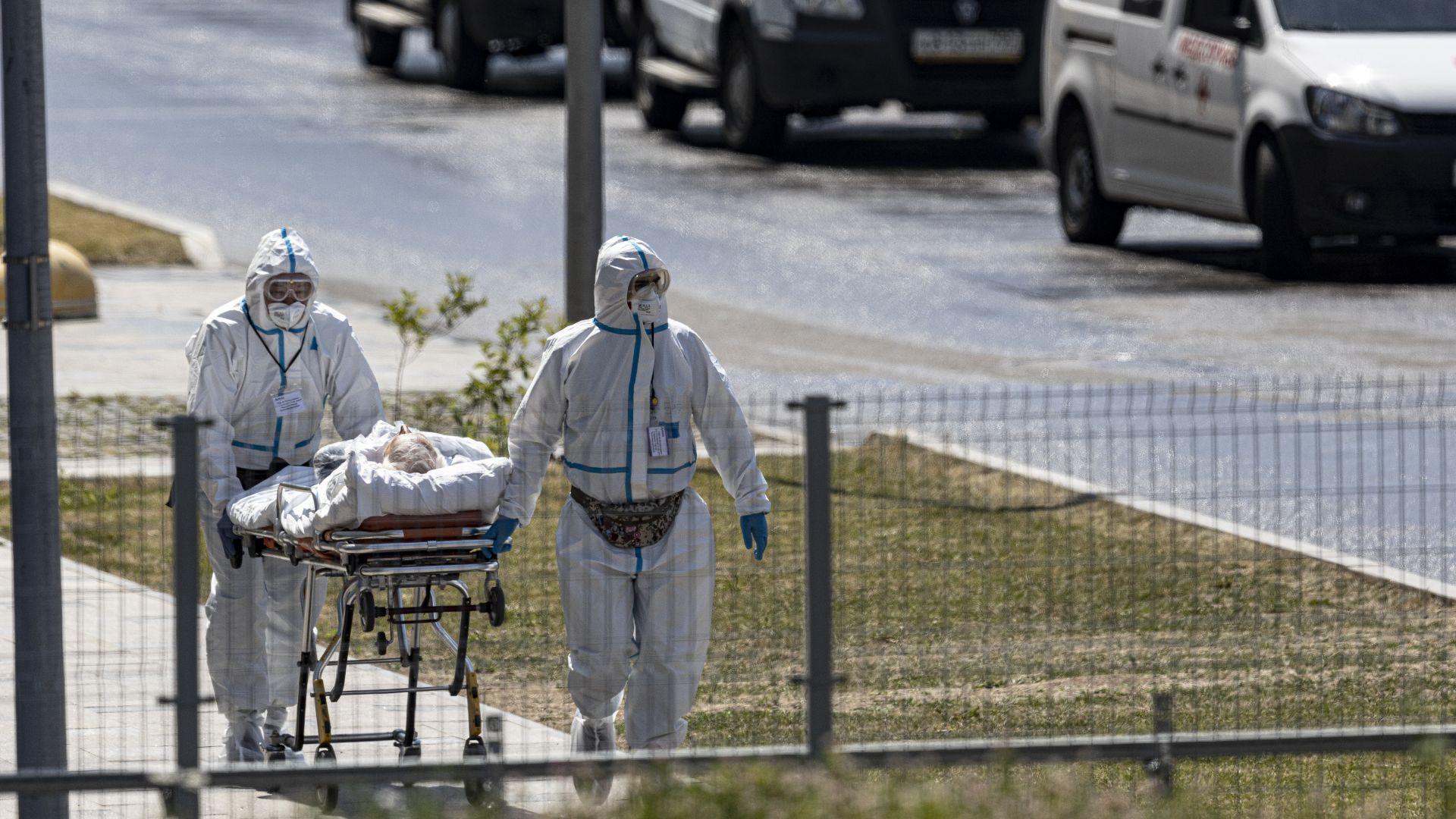 Русия отчете най-смъртоносния Covid рекорд от пандемията насам