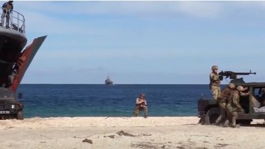 Украйна и САЩ започнаха учение в Черно море въпреки протестите на Русия (видео)