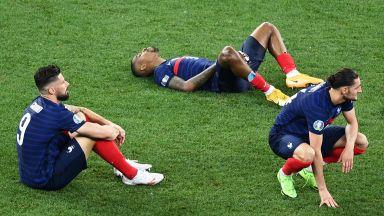 Във Франция съсипаха отбора: Кошмарен Мбапе и безпомощен Дешан