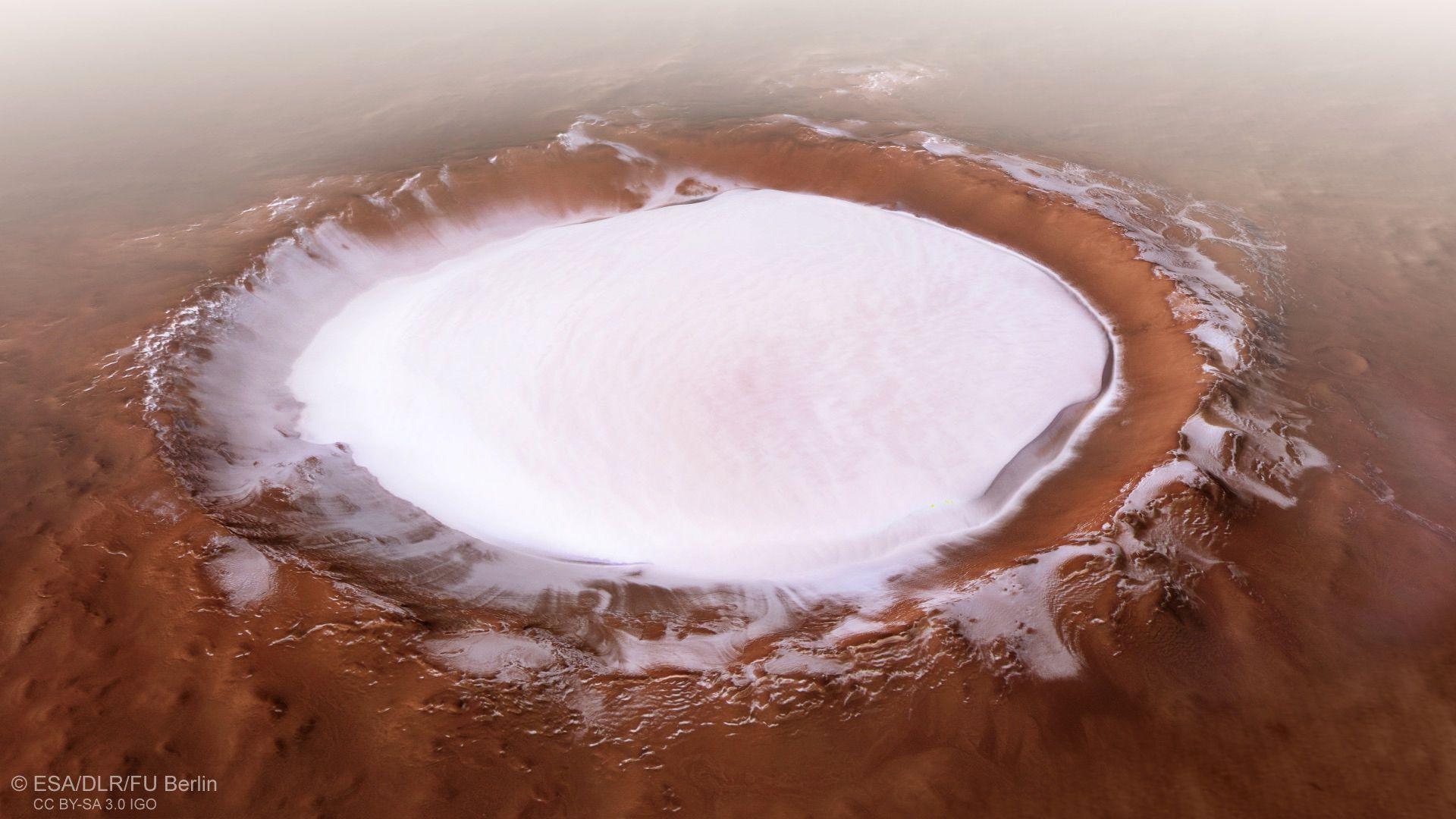 НАСА откри десетки подземни езера на Марс